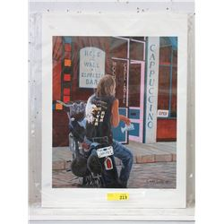 """Chris MacLure AP Print - """"Hole in the Wall"""""""