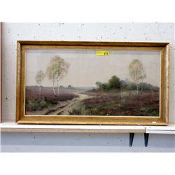 Signed Vintage P. Fox Landscape