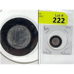 1/10 Oz. UK Mint .9995 Platinum Britannia Coin