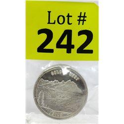 1 Oz. Swiss of America.999 Silver Round