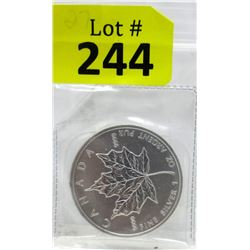 1 Oz. 2011 Canada .9999 Silver Maple Leaf Coin