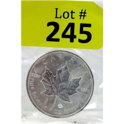 1 Oz. 2016 Canada .9999 Silver Maple Leaf Coin