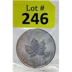 1 Oz. 2014 Canada .9999 Silver Maple Leaf Coin