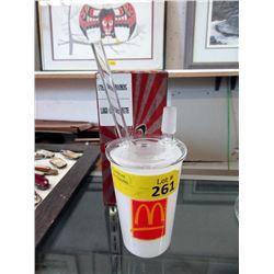 """New 8"""" Atomix Glass McDonalds Bong"""