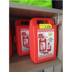 2 New 2 Ton Hydraulic Bottle Jacks