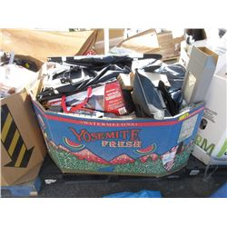 Skid of Assorted Store Return Camping Goods & more