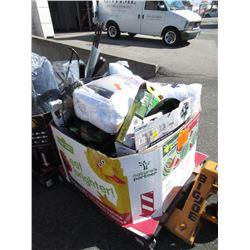Skid of Assorted Store Return Goods