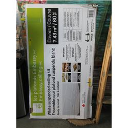 White Suspended Ceiling Kit - Store Return