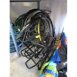 9 Piece Lot of Bicycle Wheels and Parts