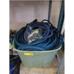 Large Tote of Assorted Garden Goods- Store Returns