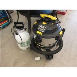 Stanley 8 Gallon Shop Vac & Deck Sprayer