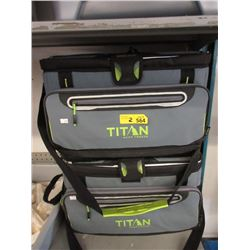 2 Titan Deep Freeze Cooler Bags - Store Returns