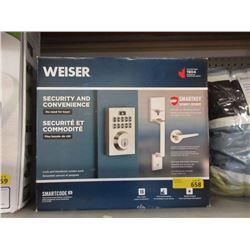 Weiser Smart Key Door Lock & Handle Set