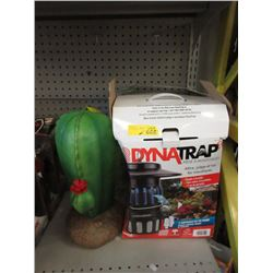 Electronic Mosquito Trap & Solar Cactus