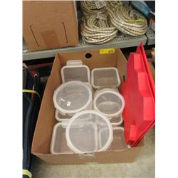 Box of Glass Storage Containers - Store Returns