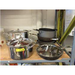 10 Piece of Cookware - Store Return