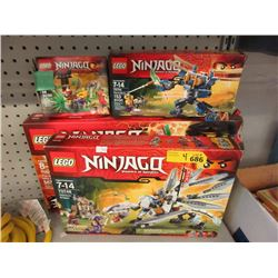 4 Assorted LEGO Sets - Contents Not Verified.