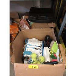 2 Cases of Assorted Goods & More