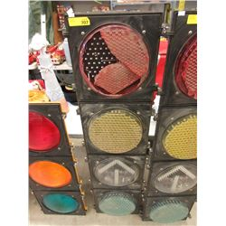 Industrial 4 Lens Traffic Light