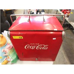 Vintage Metal Coca-Cola Cooler