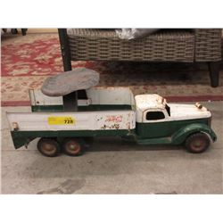 Vintage Buddy L Sit & Ride Pressed Steel Truck