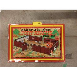 Vintage Fort Apache Carry-All Playset