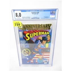 "Graded 1984 ""Superman #400"" DC Comic"