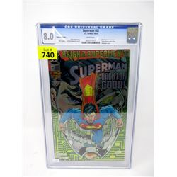 "Graded 1993 ""Superman #82"" DC Comic"