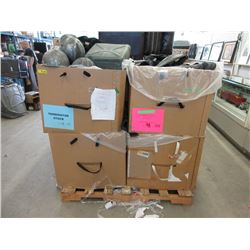 4 Giant Boxes of Helmets Chest Protectors and More