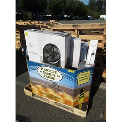 Skid of Assorted Store Return Electric Fans
