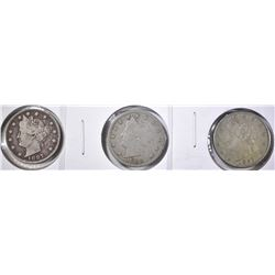 LIBERTY NICKEL LOT: