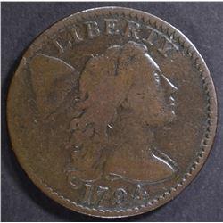 1794 LARGE CENT   FINE