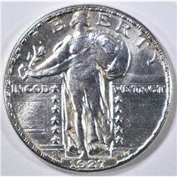 1927-D STANDING LIBERTY QUARTER  CH BU