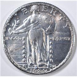 1929 STANDING LIBERTY QUARTER  CH BU