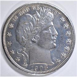 1908-D BARBER HALF DOLLAR  AU/BU