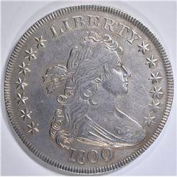 1800 BUST DOLLAR  AU MARKS REV.