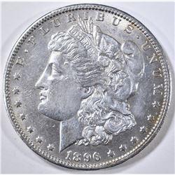 1896-O MORGAN DOLLAR  CH AU