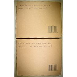 2-2012 U.S. MINT UNC SETS SEALED IN ORIG BROWN BOX