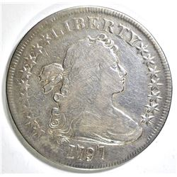 1797 SMALL EAGLE BUST DOLLAR VF