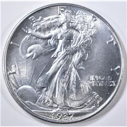 1937 WALKING LIBERTY HALF DOLLAR  GEM BU