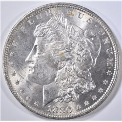 1880 MORGAN DOLLAR  CH/GEM BU