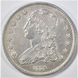 1831 BUST QUARTER  AU