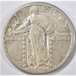 1923-S STANDING LIBERTY QUARTER  XF+