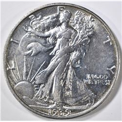 1939-S WALKING LIBERTY CH BU