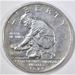 1925-S CALIFORNIA COMMEM HALF DOLLAR  AU