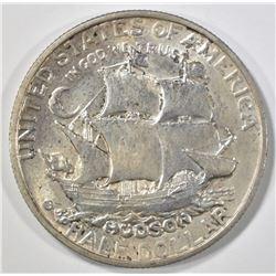 1935 HUDSON COMMEM HALF DOLLAR  CH BU