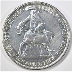 1938 NEW ROCHELLE COMMEM HALF CH/GEM BU PL