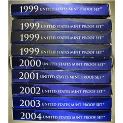 U.S. PROOF SET LOT: