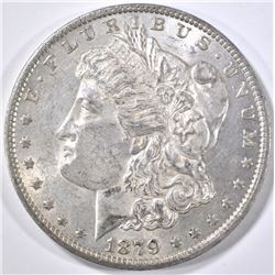 1879-O MORGAN DOLLAR, AU/BU