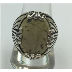 RELIOS STERLING SILVER RING WITH STONE